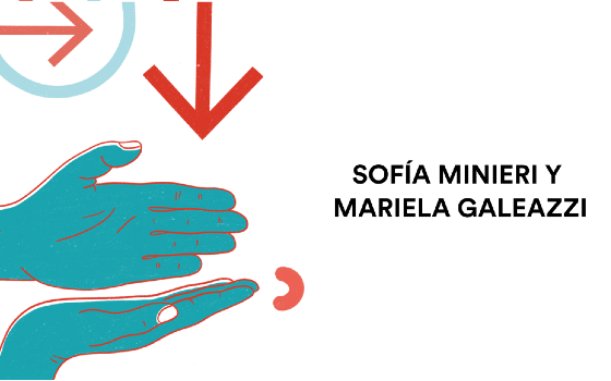 Sofía Minieri y Mariela Galeazzi
